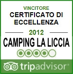 Trip Advisor - Certificato di eccellenza