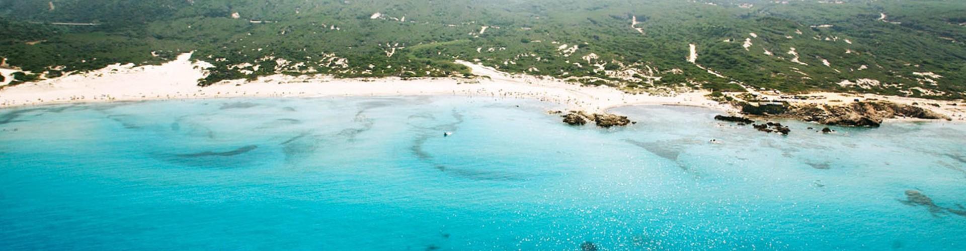 La spiaggia di Rena Majore